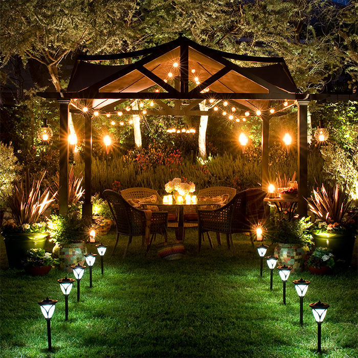 Lighting tips to enhance your outdoor living space aloadofball Images